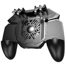 AK88 Universal 6 Fingers Eating Chicken Gamepads for IOS Android Phones Controller Taking Aims Fire Buttons Joystick for PUBG cheap Liplasting Other