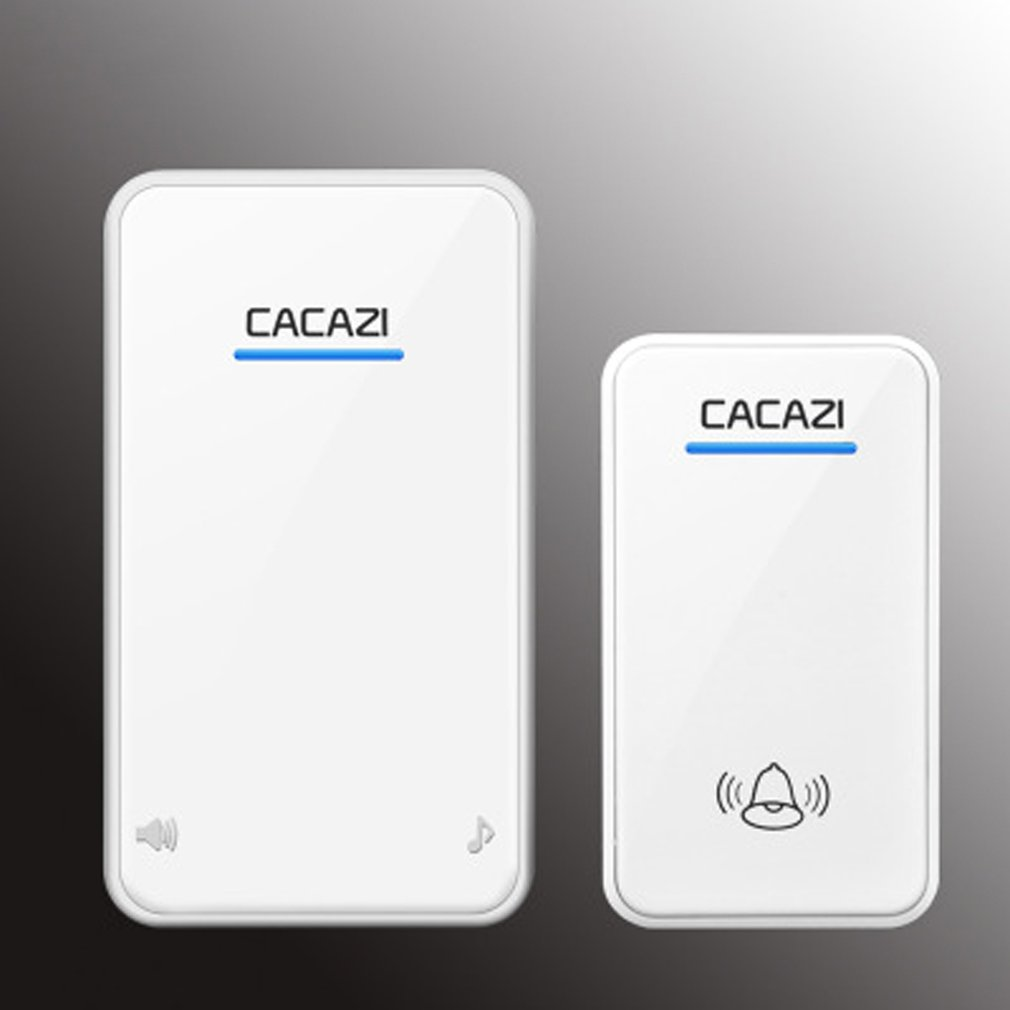Doorbell Wireless Household Battery DC Power All-purpose Battery Unplugged Wireless Doorbell One For One Waterproof