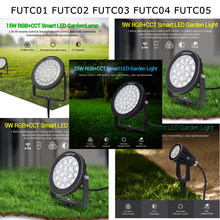 Miboxer FUTC01 FUTC02 FUTC03 FUTC04 FUTC05 Waterdichte 6W 9W 15W 25W Rgb Cct Gazon Tuin Licht landschap Light Remote Wifi Contro(China)