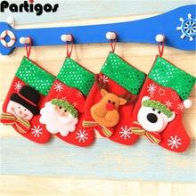 Weihnachten Pailletten Socken Weihnachten Dekorationen kinder Weihnachten Baum Ornamente Santa Schneemann Elk Bär Weihnachten Socken Geschenk