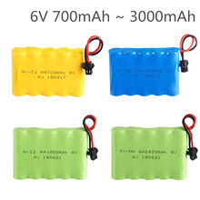 6.0v ni-mh bateria NI-CD mah 700mah 1400mah 1800mah 2400mah 2800mah para rc brinquedos carros caminhões tanques armas rc brinquedos 6v