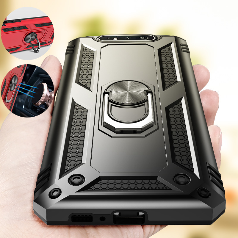 Shockproof Armor Samsung Galaxy Cover With Holder Ring
