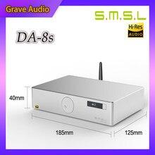 SMSL DA-8s NJW1194 80W amplificateur numérique Bluetooth équilibré complet DA8S 2.0 canaux amplificateur de puissance numérique pur