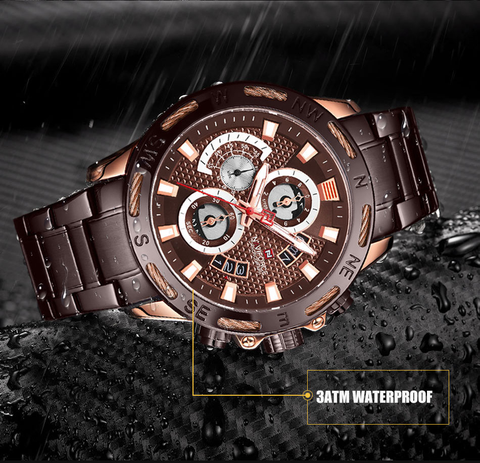 Men's Waterproof Branded Watch - MiraShop