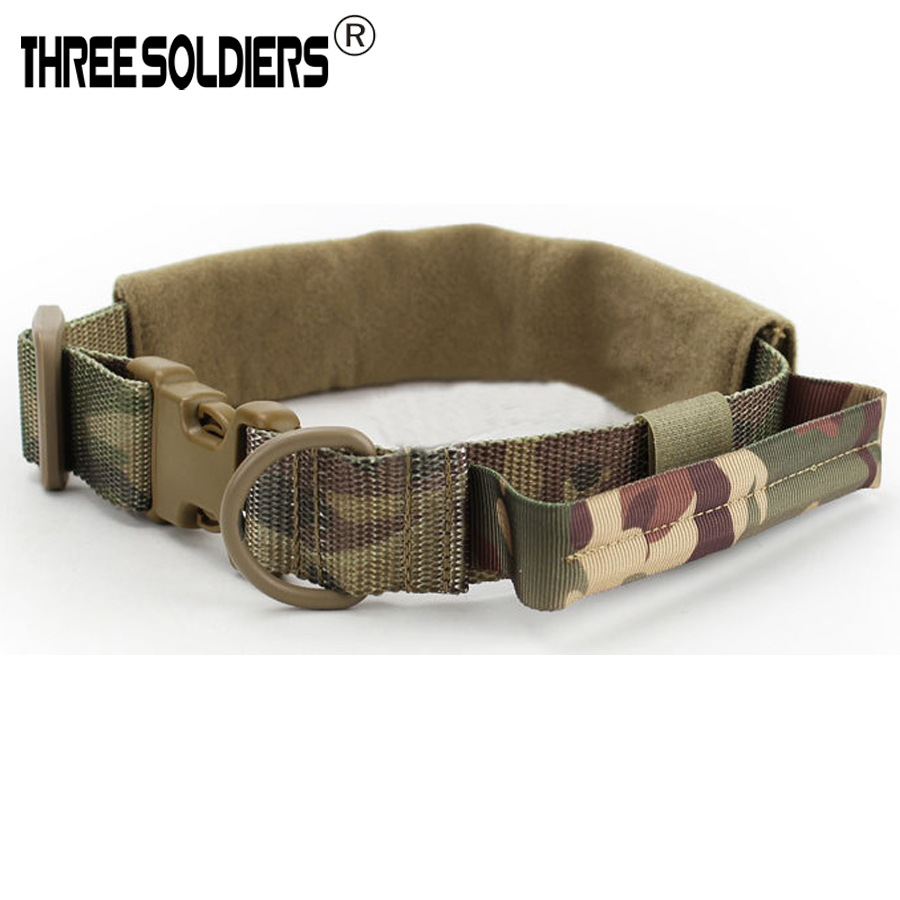 Outdoor Nylon Thick Double Layer Pet Dog Neck Ring Neck Scarf Small, Medium And Large Pet Dog Camouflage Neck Ring Bandana