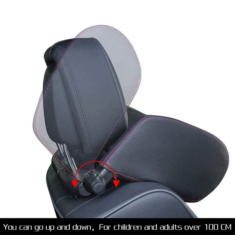 Car Seat Headrest Pillow Travel Rest Neck Pillow Support Solution For Kids Pillow And Adults Auto Seat Head Cushion Car Pillow 1