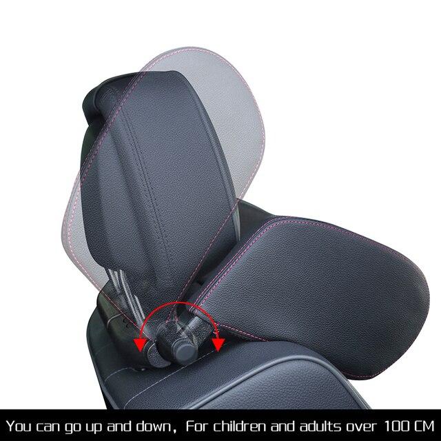 Zagłówek fotela samochodowego poduszka podróżna poduszka pod kark rozwiązanie pomocnicze poduszka dla dzieci i dorosłych fotel samochodowy poduszka na głowę poduszka do auta