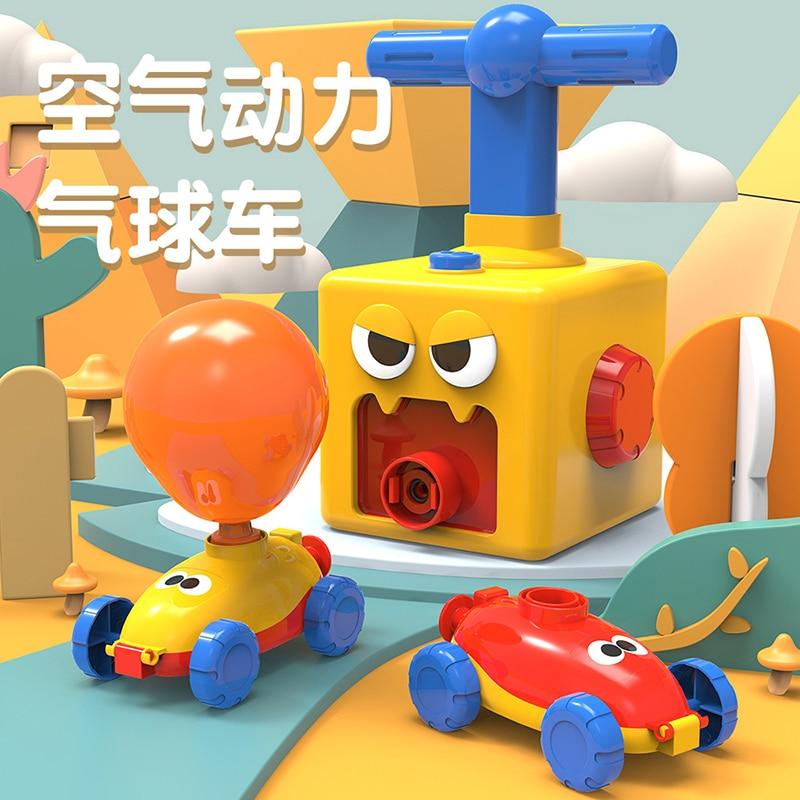 Erőgömbös autós játék Montessori játékok oktatási kísérlet - Modellautók és játékautók - Fénykép 6