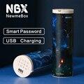 NBX чехол-карандаш с кодовым замком и паролем  многофункциональная коробка-карандаш для мальчика  пластиковые милые канцелярские принадлежн...