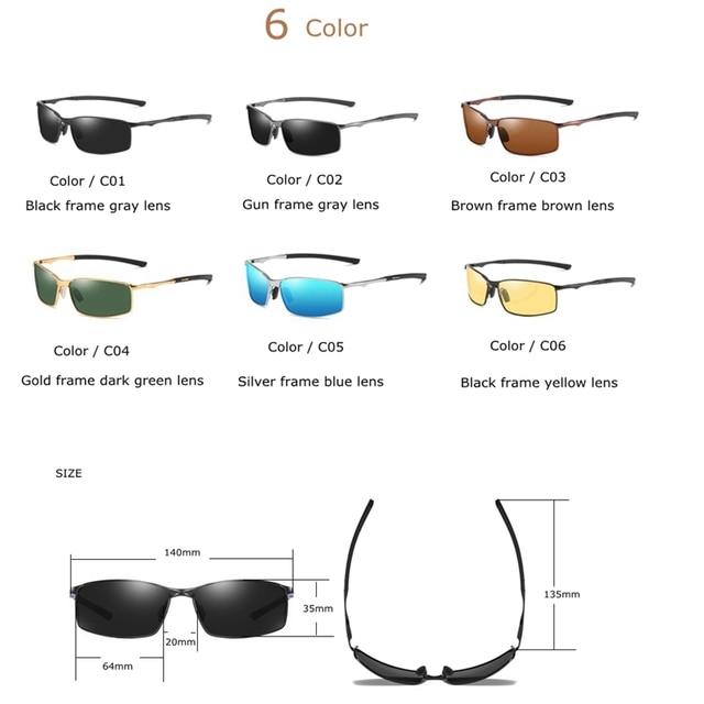 2019 Brand Polarized Sunglasses Men New Fashion Eyes Protect Sun Glasses With Accessories Male Driving Goggles Oculos De Sol 5