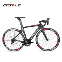 2019 Costelo Speedcoupe full carbon fiber road bike frame complete bicycle with