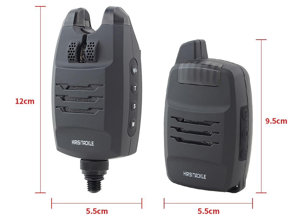 Details about  /5 in1 4 in1 Wireless Remote Sense Bite Alarm Supply Sound Alert Kit,Carp Fishing