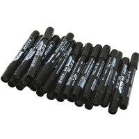 5 stücke Permanent Farbe Marker Stift Fettige Wasserdicht Schwarz Stift für Reifen Marker Schnell Trocknend Unterschrift Stift Schreibwaren auf