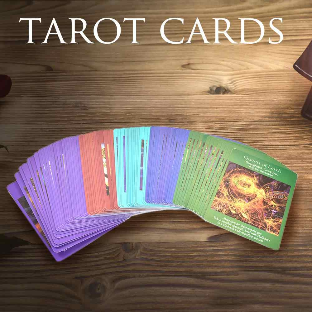 78 Pcs Angel Tarot Kaarten Board Game Speelkaart Family Holiday Party Speelkaarten Engels Tarot Spel Kaarten