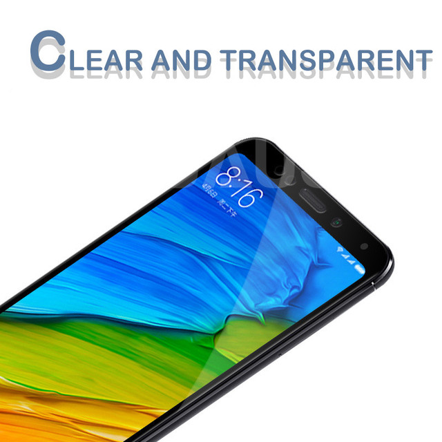 9D Tempered Glass For Xiaomi Redmi 5 Plus 5A S2 Go K20 Note 5 5A Pro Screen Protector Redmi 4 4X 4A Safety Protective Glass Film