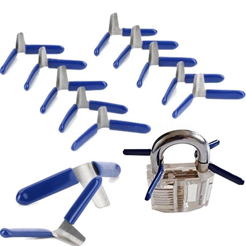 5pcs Padlock Shim Picks Set Lock Pick Accessories Set Tools Lock Home Tools