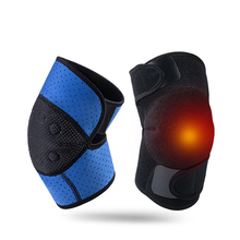 Adjustable Tourmaline Infrared Magnetic Self-Heating breathable Knee Pads Tourmaline Products Therapy Knee Support Massager 2018 best selling products infrared heating mat tourmaline health products full body heat sleep mat with free gift eye cover