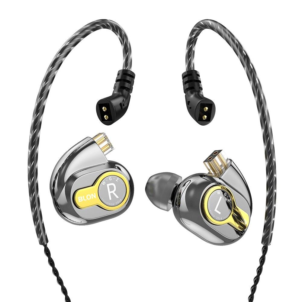 Image 2 - BLON BL 05 BL05 BL 03 BL03 10mm 2nd Generation Carbon Nanotube CNT Diaphragm In Ear Earphone HIFI DJ Sport Earbuds with 2pinEarphones   -