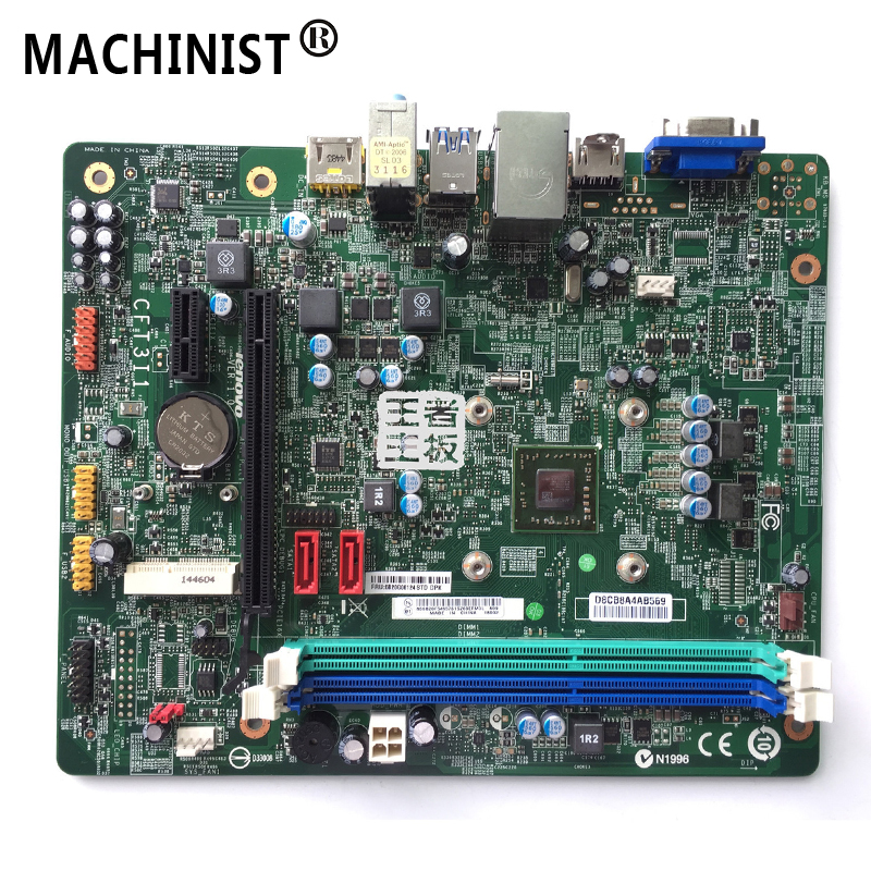 Original For Lenovo H3050 H5050 G5005 H30-50 H50-50 F5005 H425 CFT3I1 Desktop motherboard MB A6-7410 DDR3 5B20G06134