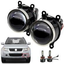 3.0 polegada bixenon projetor luz de nevoeiro lente condução lâmpada hid d2h para suzuki grand vitara suzuki sx4 swift sedan jimny alto