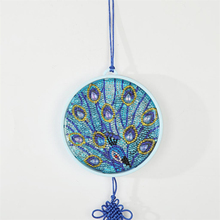 DIY Butterfly Diamond Painting Night Light Hanging Decoration Lamp Embroidery Round Shinny Beads Table Lamp