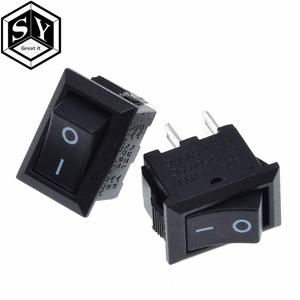 10PCS Great IT 10*15mm SPST 2PIN ON/OFF G130 Boat Rocker Switch KCD11 3A/250V Car Dash Dashboard Truck RV ATV Home
