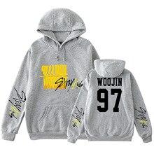 Stray เด็ก PLUS ขนาด 4XL ขนาดใหญ่ Hoodie Sweatshirt Hoodies ผู้หญิง Streetwear Hoodies เสื้อผ้าแฟชั่นสินค้า