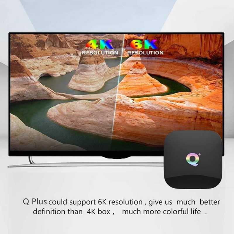 NEW-TVกล่องAndroid 9.0 Quad Core 6K H.265 HDR 2.4GHz WifiสนับสนุนGoogle Player Youtube IPTVสมาร์ทtop Box EU Plug