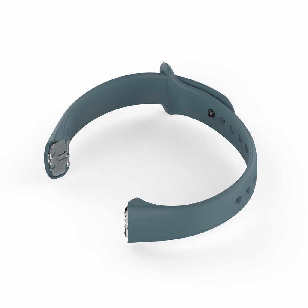 سيليكون سوار المعصم الفرقة استبدال حزام (Watch) ساعة المعصم حزام لسامسونج غالاكسي صالح SM-R370 ساعة ذكية حزام معصمه ساعة