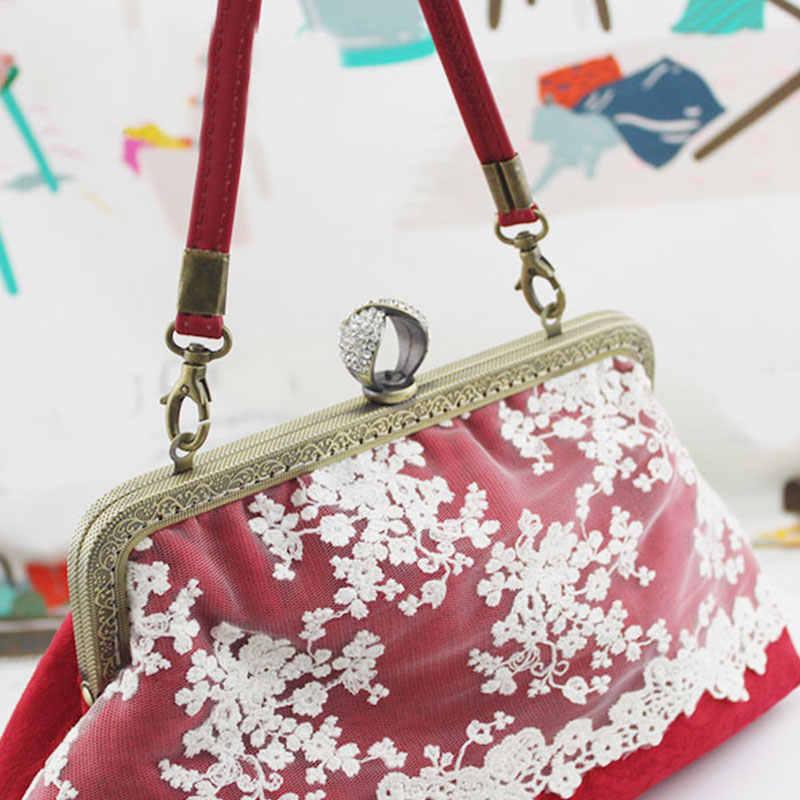 להסרה עור כתף BagStrap נשים בנות חלקי ידית החלפת שקיות אביזרי אבזם חגורות חג המולד מתנה