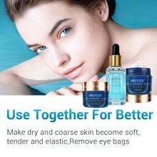 BREYLEE Hyaluronic Acid Serum Eye Cream Face Cream Hydrating Moisturizing Nourishing Anti-Wrinkle Improve Dry Skin Care Set