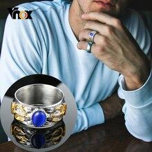 Мужское обручальное кольцо с трезубцом 10 мм