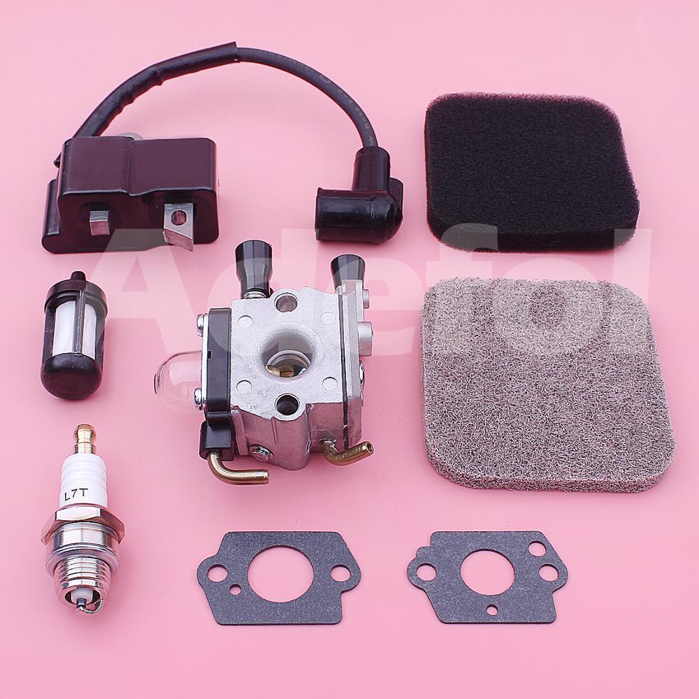 Tools : Carburetor Ignition Coil Kit For Stihl FS75 FS80 FS85 FC85 HT70 HS75 HL75 HT75 HS80 Chainsaw 4140 120 0619 4137 120 0608