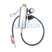 GX100 Automotive System Cleaner Non Smontare Iniettore Valvola A Farfalla Strumenti di Pulizia A Benzina per Le Auto A Benzina