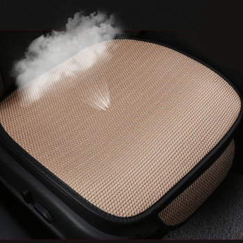 Summer Car Seat Cover Breathable Ice Silk Four Seasons Car Seat Cushion Protector Pad Front Pad Fit for Most Cars
