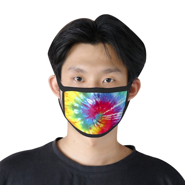 Printed wild cat universal face mouth unisex washable reusable cloth masks safety protection