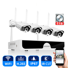 Cctv systeem Draadloze Surveillance Systeem Kit 3MP Home Security Camera System Outdoor Wifi Camera Set Video Audio opname