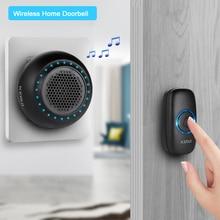 KERUI M523 Wireless Doorbell Home Waterproof Door Button Colorful LED Lights Hou