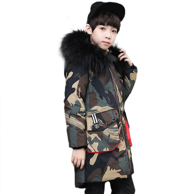 Boys Camouflage Cotton...