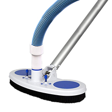13 Inch Wide Cleaning Tool Suction Head Pond Fountain Spa Pool Vacuum Cleaner Brush For Inground Above Ground Pools