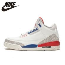 купить Nike Air Jordan 3 BG Katrina AJ3 Mens Basketball Shoes Comfortable Air Cushion Outdoor Sports Sneakers Men # 854273/136064 онлайн