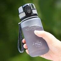 2016 verkauf Ciq Erwachsene Wasser Flasche Protein Shaker Uzspace Neue 350 ml flasche Ohne Bpa Bike Travel Tasse Geben Sie Gesundheit Jeden Tag-in Wasserflaschen aus Heim und Garten bei