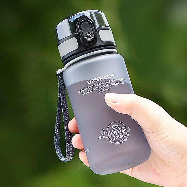 Nouveau 350ML Sport bouteille deau sans BPA enfants belle Shaker boire ma bouteille Portable étanche écologique Tritan plastique Drinkware