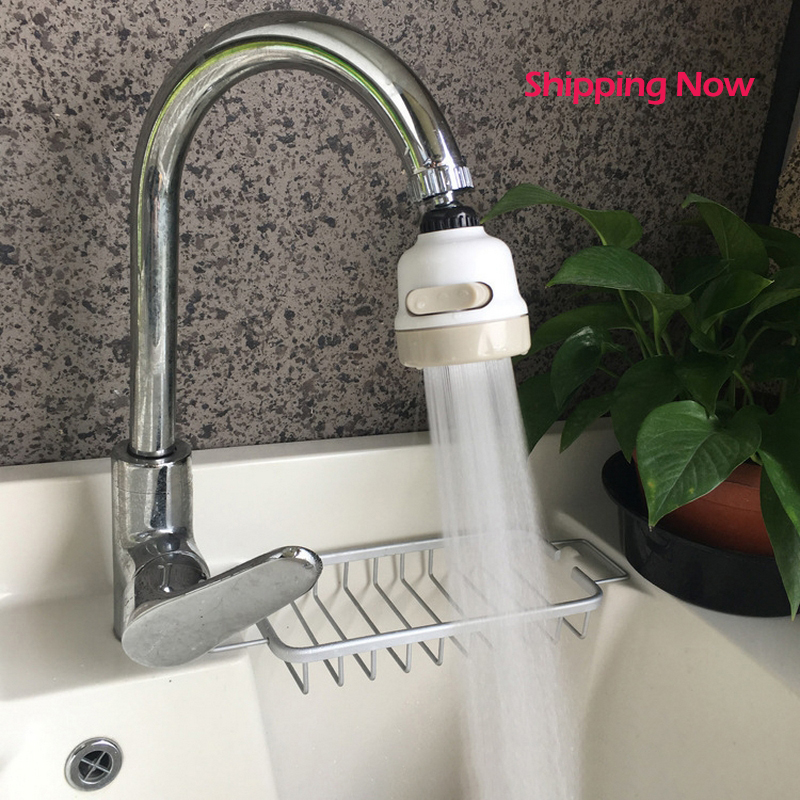New Kitchen Shower Faucet Tap 3 Level Can Adjusting 360 Rotate Water Saving Bathroom Shower Faucet Filtered Faucet Accessories
