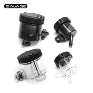 Front Rear Brake Fluid Reservoir For DUCATI Panigale 899 959 1199 1299 V4 1100/S/R MONSTER 1200 1100/EVO Motorcycle Oil Tank Cup