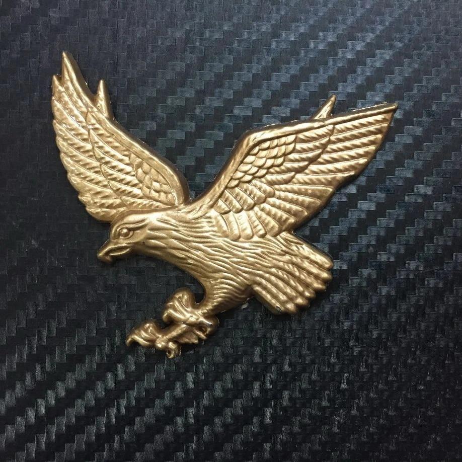 Mobil Lencana Terbang Elang Emas Logam Truk Motor Chrome Emblem Stiker Sticker Metal Emblem Stickermetal Emblem Badge Aliexpress