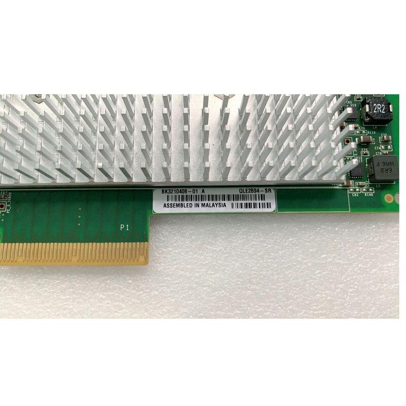 Qlogic QLE2694-SR 16 gb quad fc hba cartão, com módulos