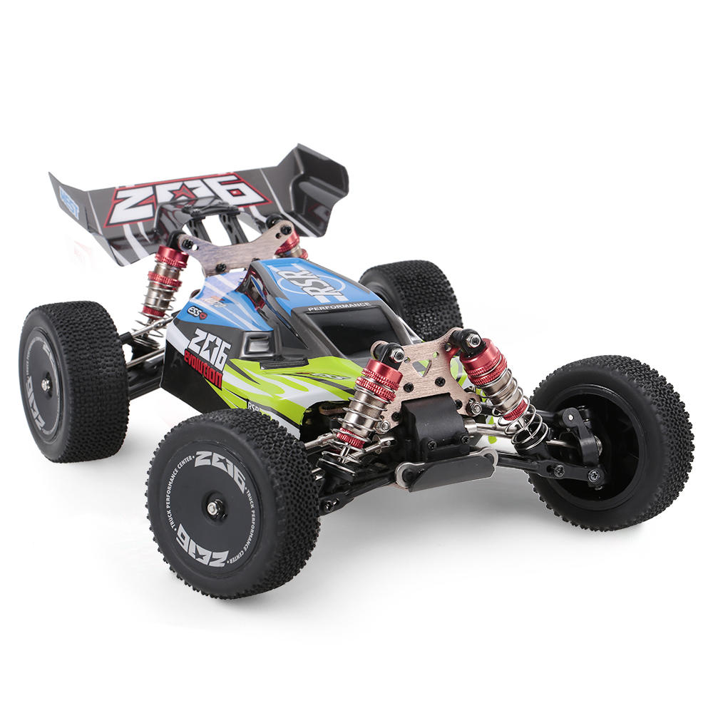 Wltoys XKS 144001 RC Car 60km/h High Speed 1/14 2.4GHz RC Buggy 4WD Racing Off-Road Drift Car RTR Toys Kid 4
