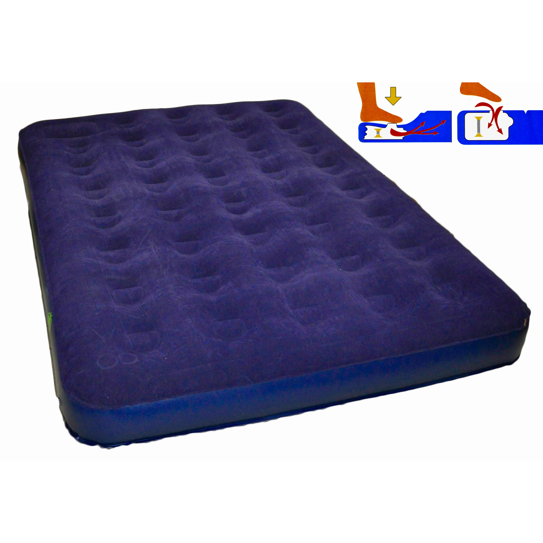 Inflatable Bed-mattress 2 Bedroom With Pump Big Clearance Sale