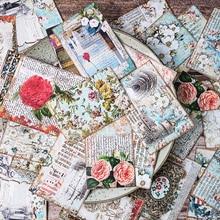 31 unids/pack diario Vintage grande flor Palacio pegatina DIY artesanía álbum basura diario planificador pegatinas decorativas